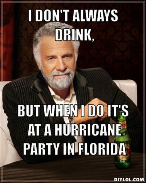 image result  hurricane party florida love  meme
