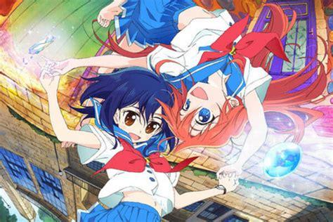 anime baru bulan oktober anime flip flappers rilis promosi jelang