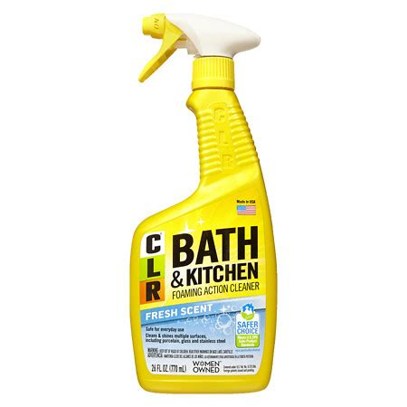 clr bathroom cleaner clr bath kitchen multi surface cleaner walgreens