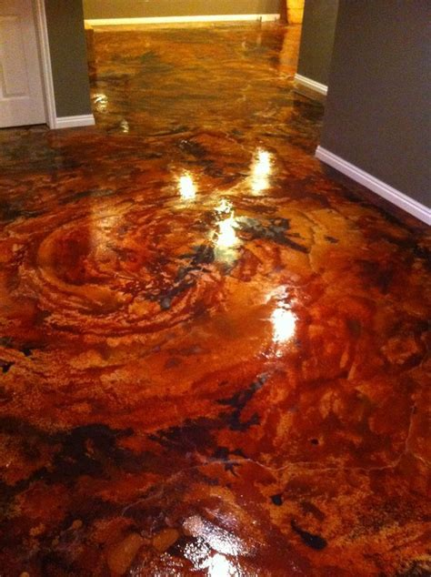 Express Yourself with Acid Stain Floors   DirectColors.com
