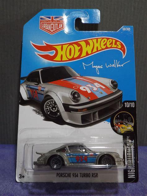 Porsche 934 Turbo Rsr Hotwheels 164 Wheel Outlaw 2017 wheels porsche 934 turbo rsr hw burnerz card new c ebay