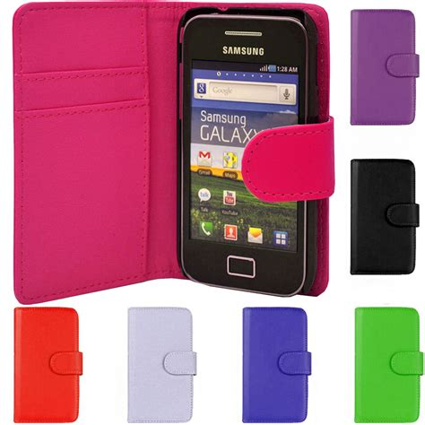 leather magnetic flip phone case cover for samsung galaxy
