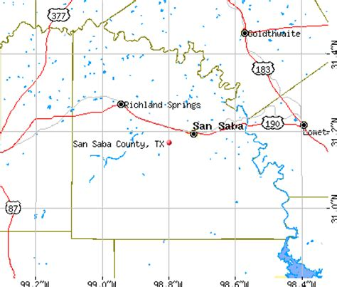 san saba texas map san saba county texas detailed profile houses real estate cost of living wages work