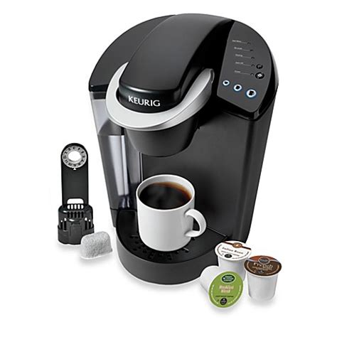 bed bath beyond keurig keurig 174 k45 elite brewing system in black