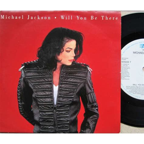 will you be there by michael jackson 7inch x 1 with