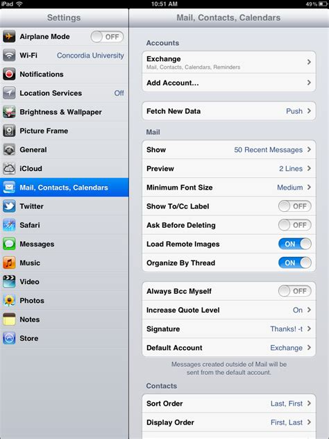change iphone layout in email iphone change email password instructions