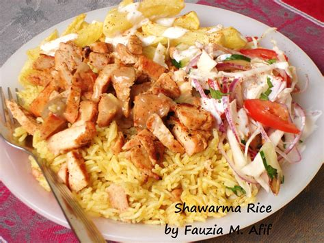 Java Kebab shawarma rice fantastic rice method soaking the rice made it turn out perfectly