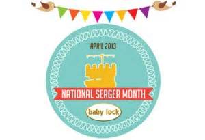 Get Decked Out For National Month by National Serger Month Learn About Different Serger