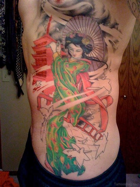japanese geisha tattoo 50 outstanding geisha for rib