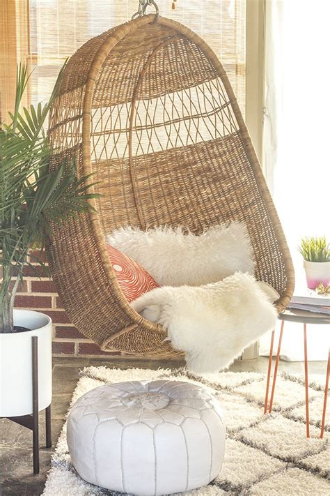 chairs that hang from ceiling how to hang a swing chair from a ceiling joist ehow