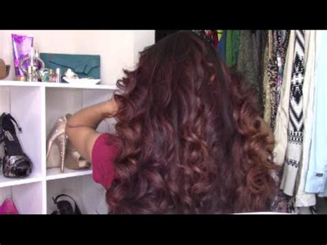 hair thats straight on top curly at bottom how to curl your hair from top to bottom long hair youtube