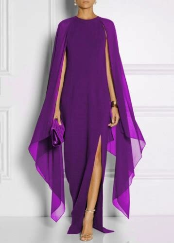 color uva vestido color uva morado largo elegante 899 00