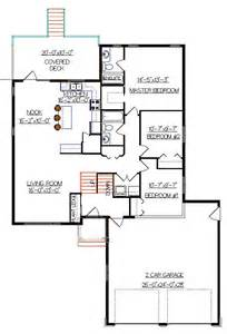 Bi Level House Plan With A Bonus Room 2011552 By E Designs