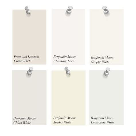 decorators white benjamin moore shades of white designers favorites and their favorite