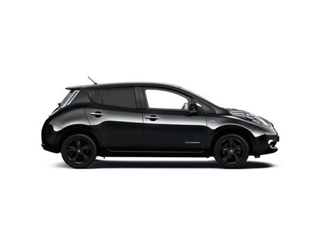 leaf nissan black nissan leaf black edition goes on sale in uk priced from