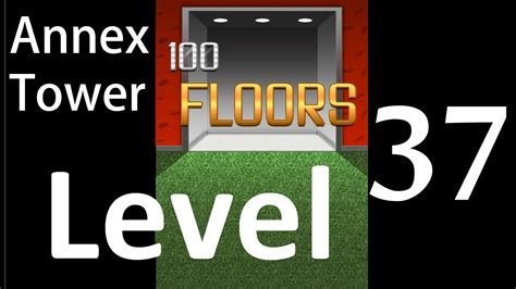 100 floors level 37 annex 100 floors level 37 annex tower solution walkthrough