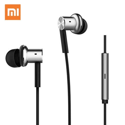 Xiaomi Earphone Hybrid original xiaomi earphone hybrid headphone mi capsule headset brand earbuds with microphone