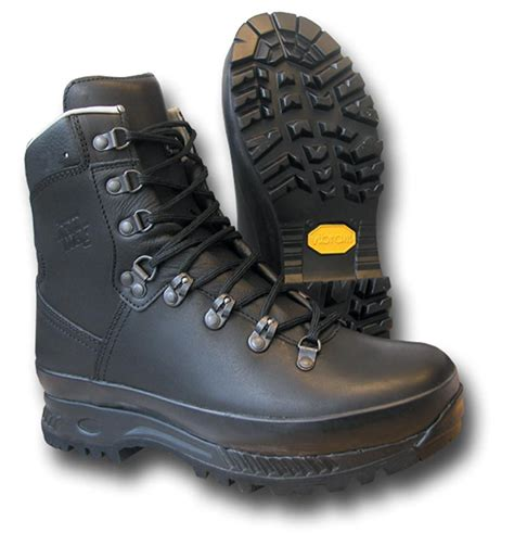 han wags han wag lx combat boots black silvermans