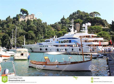 porti francesi luxury yachts in the italian harbour of portofino