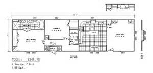 Floor Plans For Mobile Homes Single Wide by Mobile Homes Floor Plans Single Wide