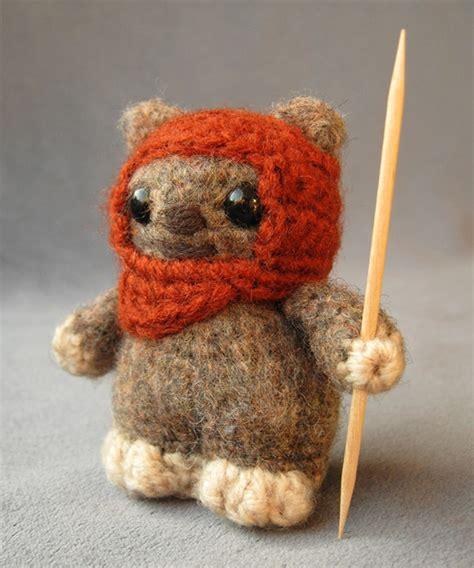 amigurumi ewok pattern free cute star wars amigurumi handmade stuffed animals