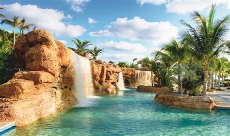 pools of paradise resort atlantis paradise island nassau bahamas the most