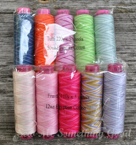 Thread For Machine Quilting by Sew Me Something I Said I Would