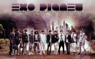 Exo exo m wallpaper 31248559 fanpop