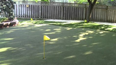 backyard putting green lighting backyard putting green custom designs rainbow