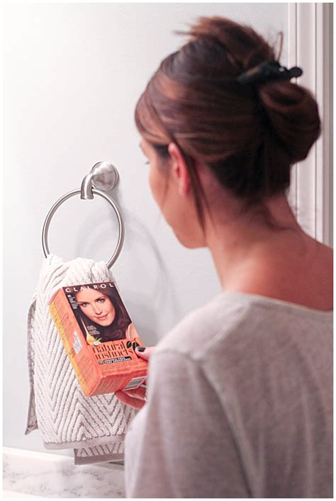 coloring your hair at home refreshed and ready with clairol 5 tips for