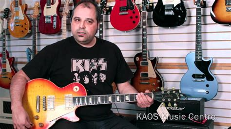 Kaos Gibson Guitars kaos gear review gibson les paul by nash guitars