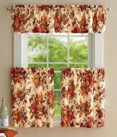 Fall Kitchen Curtains Apple Kitchen On Apples Dishwasher Cover And Apple Baskets
