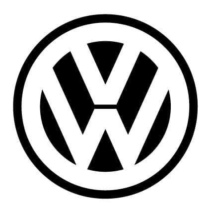 Auto Sticker Volkswagen by Vw Logo Sticker Stickythings Nl