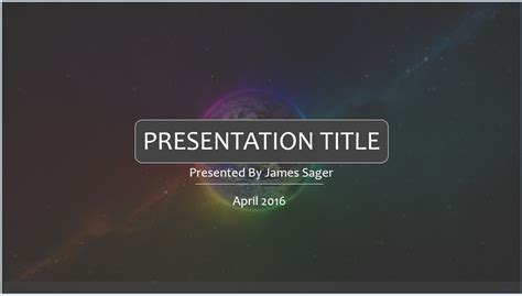 cool ppt themes free download free cool space powerpoint template 7874 sagefox