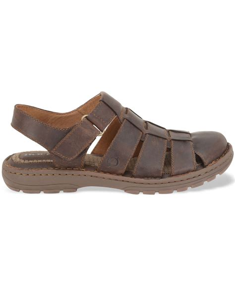 born sandals for born osmond fisherman sandals in brown for save 14