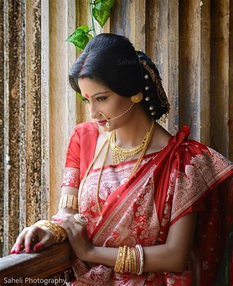 Traditional Bengali Bridal look..   Bengali Brides