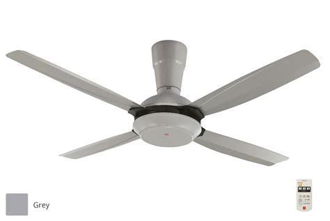 Kdk 5 Blade Ceiling Fan by Kdk 56 Quot 4 Blades Ceiling Fan With Remote K14x5 Grey
