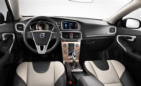 V40 Interior by Car And Driver