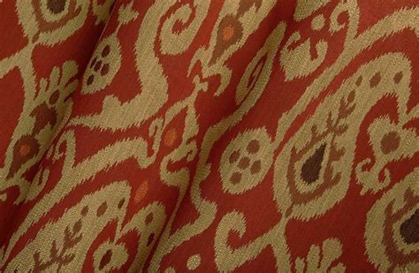 upholstery fabric ikat neopolo ikat upholstery fabric in red garnet