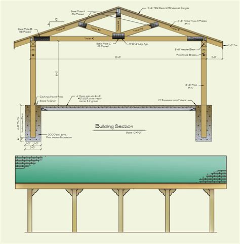 8x8 house plans log and timber frame picnic shelter