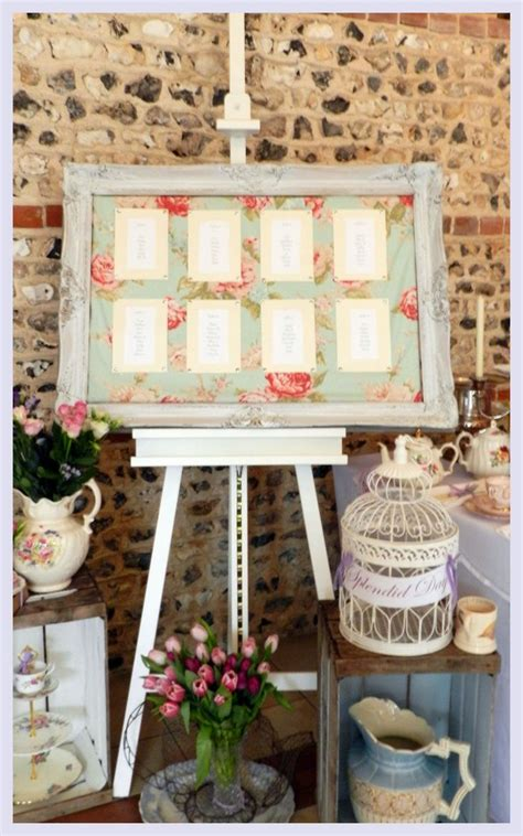 Shabby Kecil Planner Table Decoration vintage wedding table plan search wedding decorations cath kidston