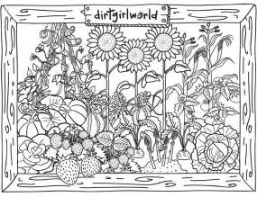 coloring pages of flowers and gardens 40 best images about coloring pages on gardens