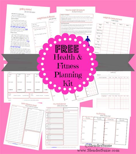 printable fitness planner free free health fitness planner gym gear weights and track
