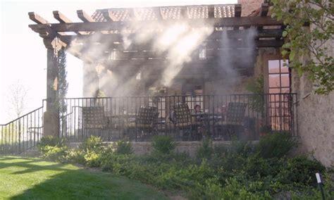 nebulizzatore giardino nebulizzatore d acqua da esterno groupon