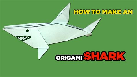 How To Make A Origami Shark Easy - best origami paper easy origami shark origami for