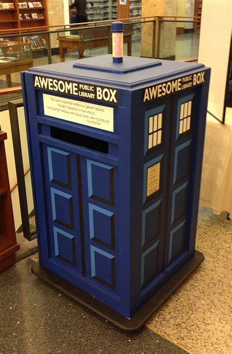 awesome boxes tardis themed awesome box is awesomer on the inside