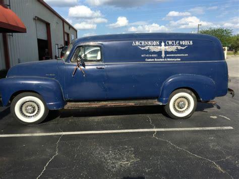 chevrolet 1 ton truck 1953 chevrolet c 3800 1 ton panel truck