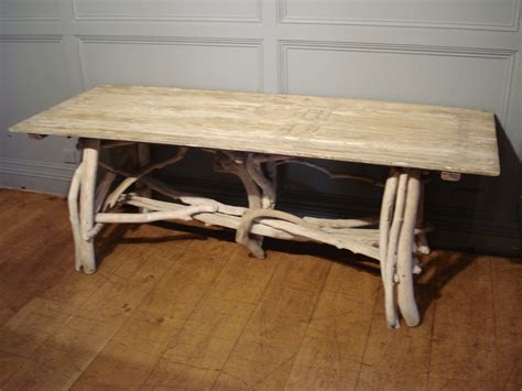 Unusual Coffee Tables sold a decorative rectangular driftwood table antique tables