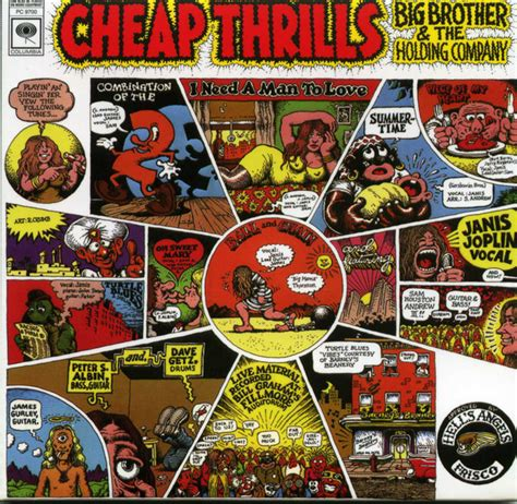 big brother  holding company featuring janis joplin cheap thrills cd album unofficial