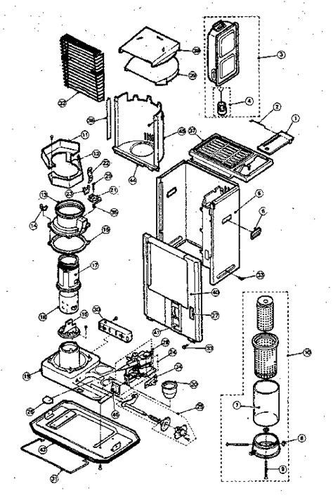 comfort glow parts comfort glow kerosene heater parts model r10500 sears